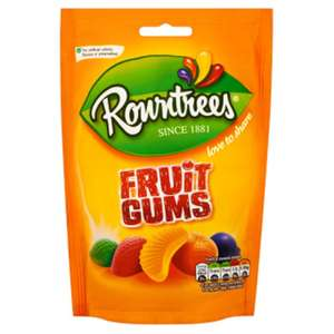 Rowntrees fruit gums 75p for 150g bag in store at Asda (Newmarket)