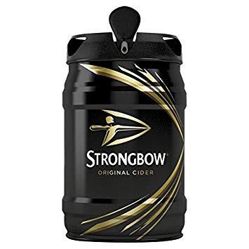 5 Litre Keg of Strongbow half price £6.50 @Tesco Instore