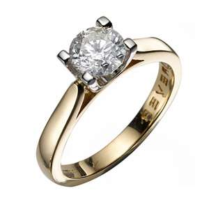 18ct Gold 1 Carat Forever Diamond Ring £6999 @ HSamuel Free Delivery