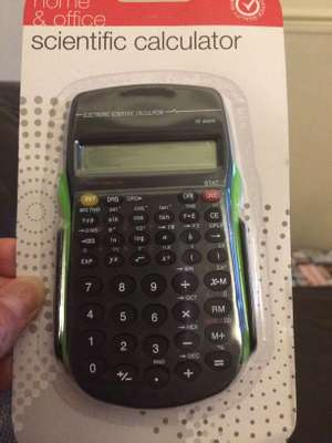 Scientific calculator £1 at Poundland