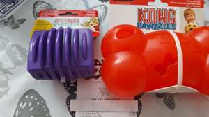 Kong dog toys at B&M for half price - £3.99