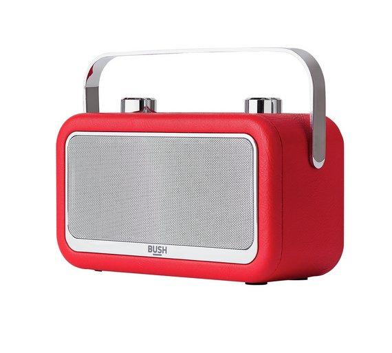 Bush Leather DAB Radio Red - £33.99 @ Argos (Free C&C)