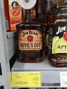 Jim Beam Devils cut 70cl down to £16 instore @Asda