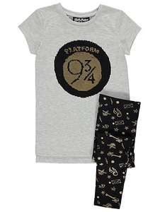 Harry Potter Swipe Sequin Kids Outfit sizes age 4-5, 5-6,6-7, 7-8  Reduced to £8 free C&C @ Asda