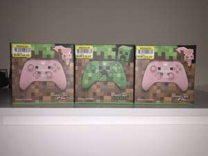 Official Xbox One Wireless Controller - Minecraft Creeper and Minecraft Pig £16.25 Tesco Musselburgh