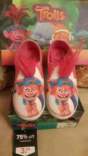 Deichmann Kids Shoes 75% off - Trolls