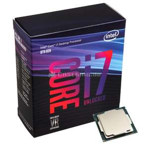Used i7-8700K CPU 6c/12t LGA 1151 £235 24mo warranty @ CEX