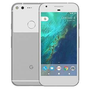 """Google PIXEL XL Phone by 32GB - 5.5"""" inch - Android Nougat - Factory Unlocked 4G/LTE Smartphone (Very Silver) (Certified Refurbished) £229.95 @  ADMI Limited UK  Amazon"""