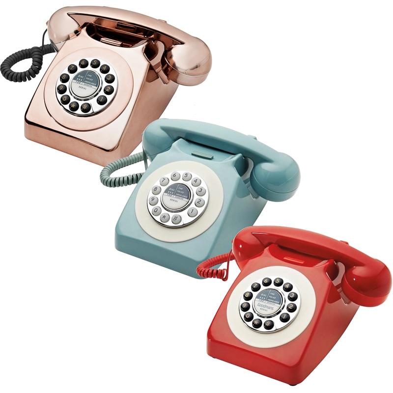 Goodmans Retro Phone £19.99 @ B&M