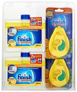 Finish Dishwasher Freshener & Cleaner Multi-Pack - £8.33 (Prime) or use S&S to get as cheap as £7.08 @ Amazon