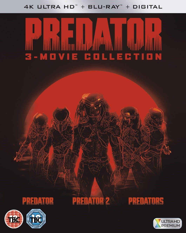 Predator 3-movie collection in 4K for £34.99 @HMV