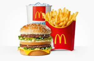 McDonald's food hack - Spend 20p and get Big Mac & fries or Fillet-o-Fish or Veggie Deluxe for £1.99 again and again...