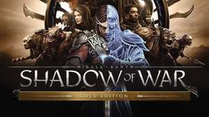 Middle-earth: Shadow of War Gold Edition £23.03 Fanatical PC steam