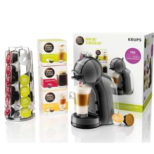 Dolce Gusto by Krups Mini Me Coffee Machine Starter Kit - Machine / Pods / Pod Holder £49.99 @ Currys [2yr Guarantee included]