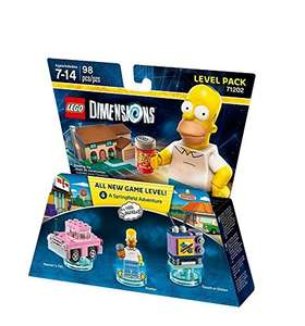LEGO Dimensions 71202 - The Simpsons - Level Pack £7.51(Prime) / £10.50 (non Prime) at Amazon