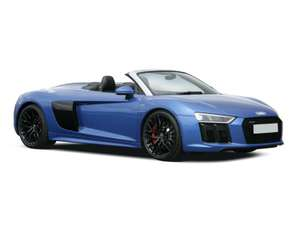 Audi R8 Spyder 5.2 FSI V10 Plus Quattro 2dr S Tronic £460.98 A MONTH lease at Leasecar