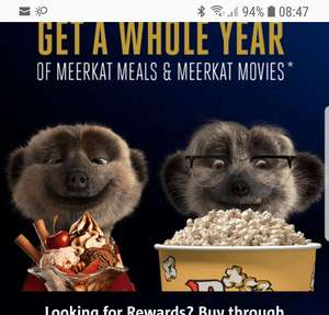 Meerkat Meal and movies 2 for 1 for £1.01