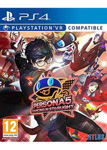Persona 5: Dancing In Starlight (PS4) / Persona 3: Dancing In Moonlight (PS4) £38.85 ea. (Preorder) Delivered @ Base
