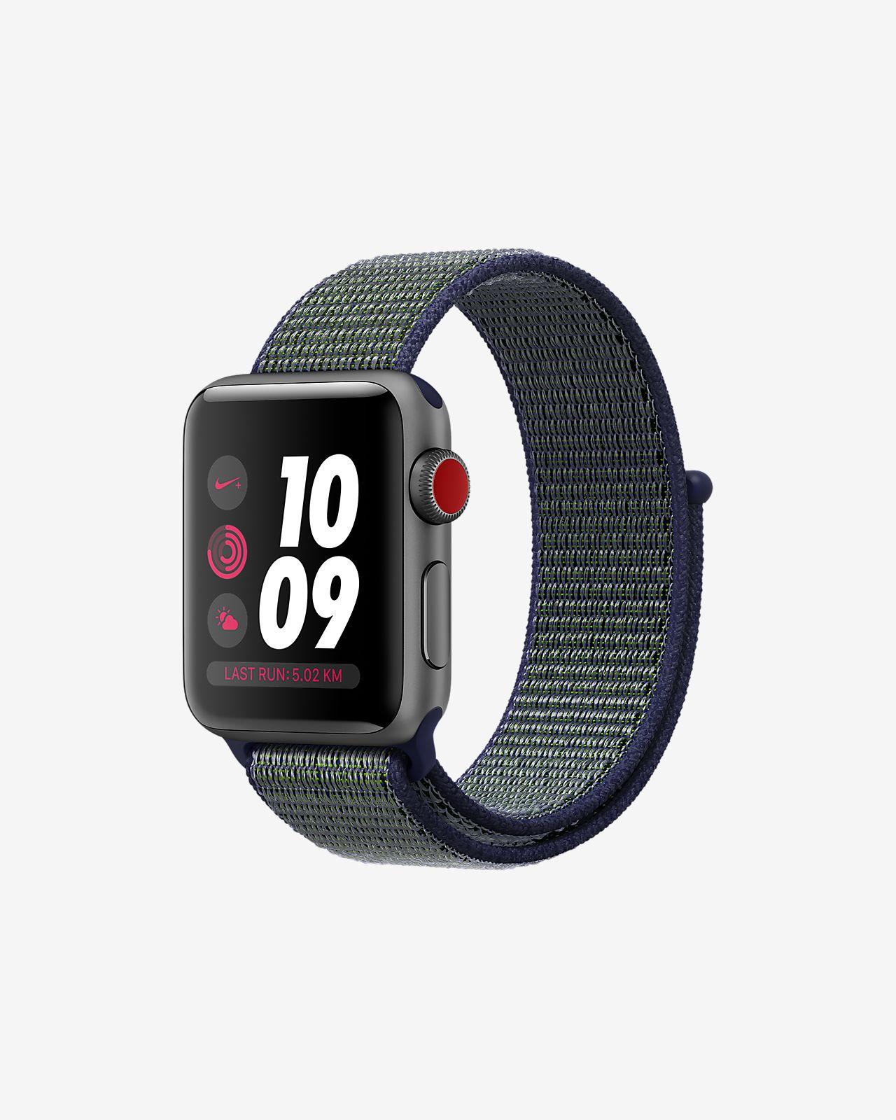 Cheap Apple Watch  Nike+ Series 3 (GPS + Cellular)   £278.97 @ Nike