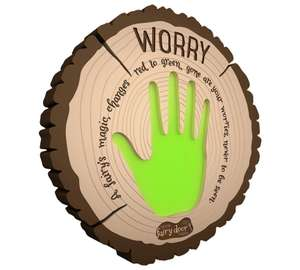 The Irish Fairy Door Company Interactive Worry Plaque £9.99 Argos