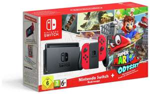 Nintendo Switch Console with Super Mario Odyssey - £274.99 - Argos on Ebay