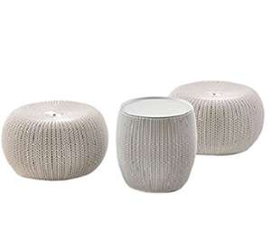 Keter cozy urban set 2 seats and table reduced to £30 in Morrisons