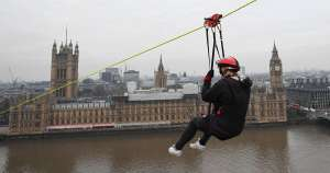 Zip Now London family of 3 zipwire experience for £43.50 @ Little Bird