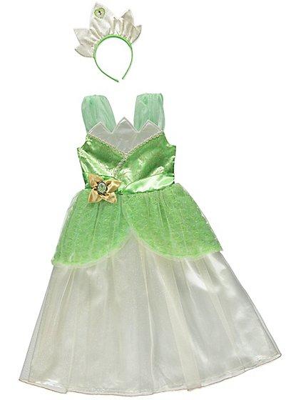 Disney Princess Tiana Fancy Dress Costume £6 Asda 2-8 YEARS OLD