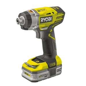 Ryobi One+ high torque impact driver - complete kit - just £87.20 with 20% off at Homebase 220NM torque!