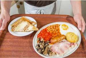 8 Item Breakfast - £1 - Spring Gardens Cafe in Doncaster