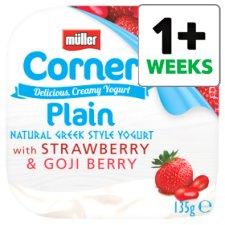 Muller corner plain style Greek yogurt free with code at Tesco.
