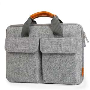 """Inateck 13-13.3 Inch Laptop Sleeve Case, Felt Laptop Bag  (for MacBook Air 13.3 Inch/13"""" MacBook Pro / Surface Pro) £9.99 Prime / £14.38 Non-prime Sold by Inateck and Fulfilled by Amazon"""