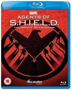 HMV - Agents of Shield Blu Ray (2 seasons out of 1/2/3)  two for £15