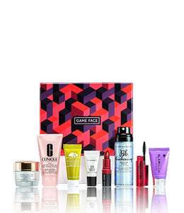 Clinique Game Face Beauty Box £25 + FREE Sample +  2 free deluxe samples & FREE delivery
