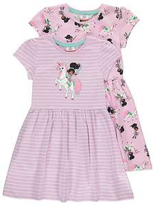 Nella the Princess Knight Dresses 2 Pack ( 2 -3- 4 -5 years old) £5.00 @ Asda George