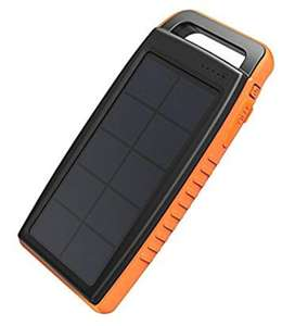 RAVPower 15000mah solar power bank £16.99 prime / £21.48 non prime Sold by Sunvalleytek-UK and Fulfilled by Amazon