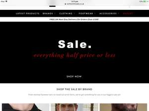 Northern Threads sale. Everything half price or less