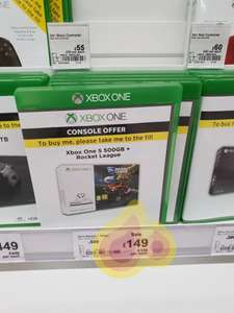 Xbox one s 500gb with rocket league £149 @ Asda merthyr