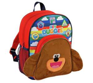 CBeebies Hey Duggee Backpack NOW IN STOCK at Argos for £8.99.