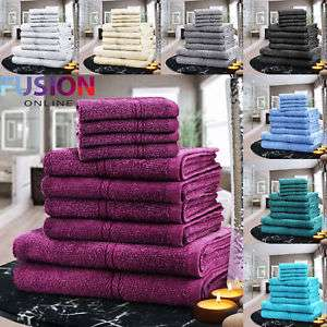 10 Piece Egyptian Towel Set Only £12.99 @ eBay / fusion_online