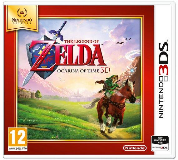 The Legend Of Zelda Ocarino Nintendo 3DS for £15.99 at Argos