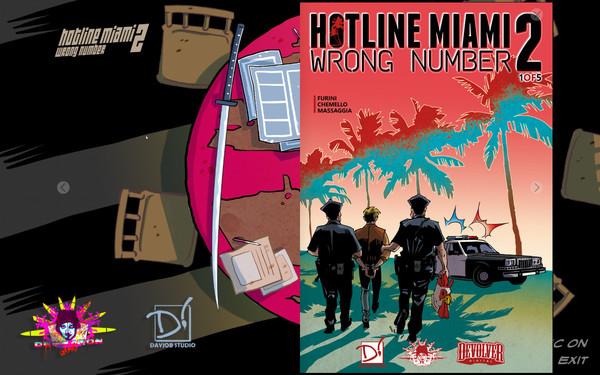 *5 FREE COMICS* Hotline Miami 2: Wrong Number @ GOG