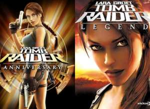 Tomb Raider Legends and Anniversary Xbox 360(BC) at MS Store for £1.49