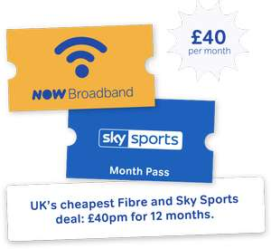 Now broadband from sky from £17pm