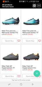 Nike children football boots JD sports - £10 (free C&C) or free delivery using code BTS