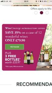 15 Bottles of Wine for £79.90 worth £157.85 @ Majestic Wines (free C&C or Home Delivery)