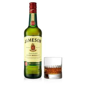 Jameson Irish Whiskey 70cl Lowest price - £17 @ Morrisons