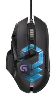 Logitech G502 Gaming Mouse Proteus Spectrum RGB Tunable with 11 Programmable Buttons at Amazon for £49.99