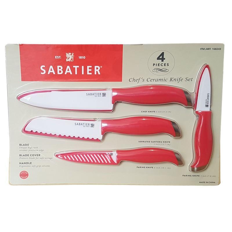 Sabatier Ceramic Knife Set of 4 @ Home Bargains in-store £6