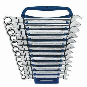 GearWrench Flexible Combination Ratchet Wrench Set - 12pc £74.99 ECP